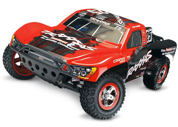 RED Slash VXL: 1/10 Scale 2WD Short Course Racing Truck with TQi Traxxas Link Enabled 2.4GHz Radio System & Traxxas Stability Management (TSM) | Traxxas