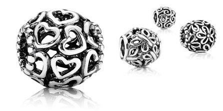 http://mitchumjewelers.com/fine-jewelry/pandora-jewelry-springfield-mo - New Pandora Open Work Charms available at Mitchum Jewelers in Springfield, MO