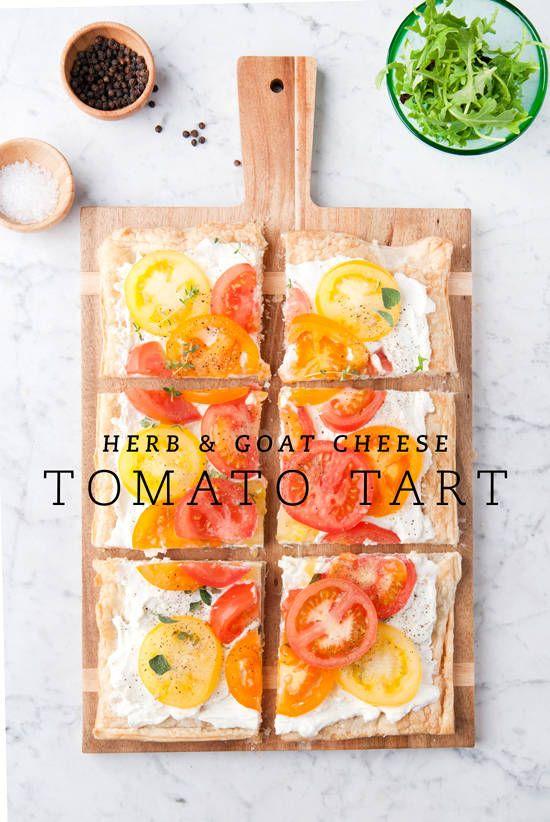 tomato tart   designlovefest