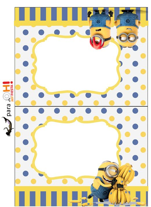 Minions, the Movie: Free Printable Candy Bar Labels.