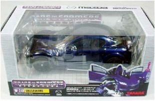 the japanese version of the takara transformers bt13 bt13 zhen dangbo rx8 misb mazda boxed shock wave #transformer