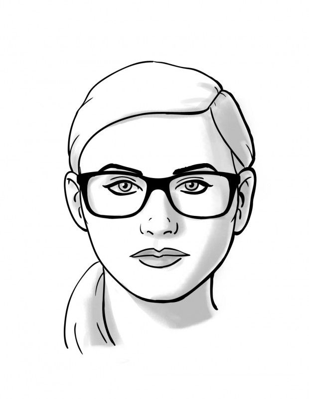 Fit Guide: Glasses for Round Face Shapes - Glasses, Face ...