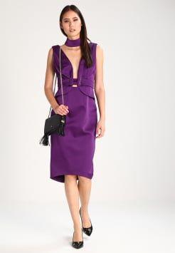 Lost Ink - THE LABEL - Sukienka koktajlowa - purple