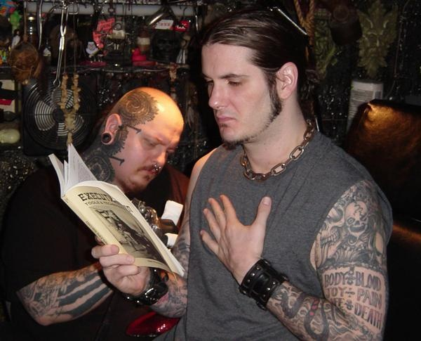 Paul booth tattoing phil anselmo paul booth pinterest for Phil anselmo tattoos
