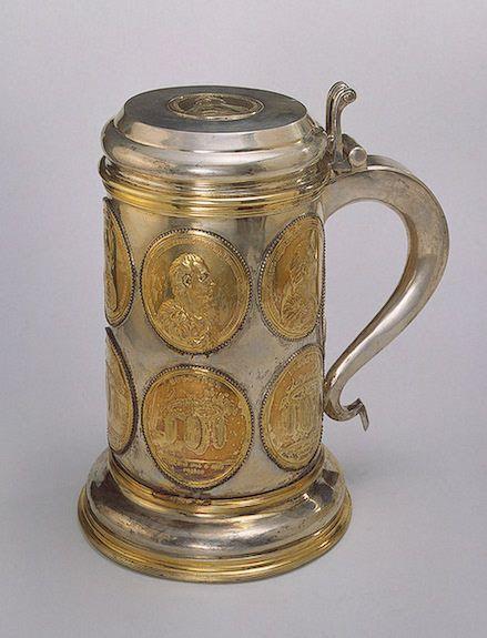tankard presented to alexander suvorov 1796