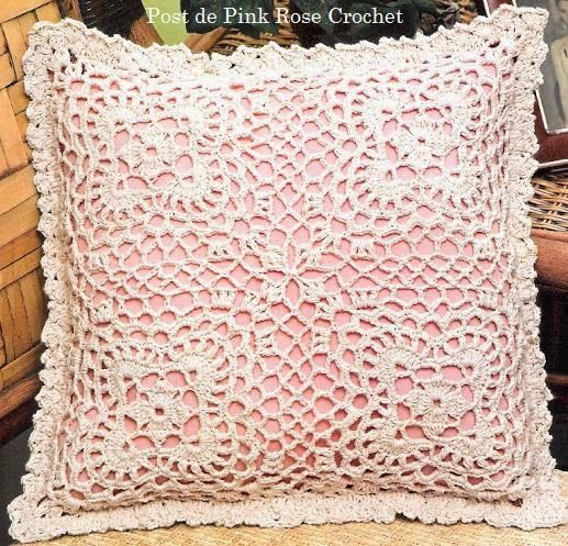 Crochet and arts: pillow