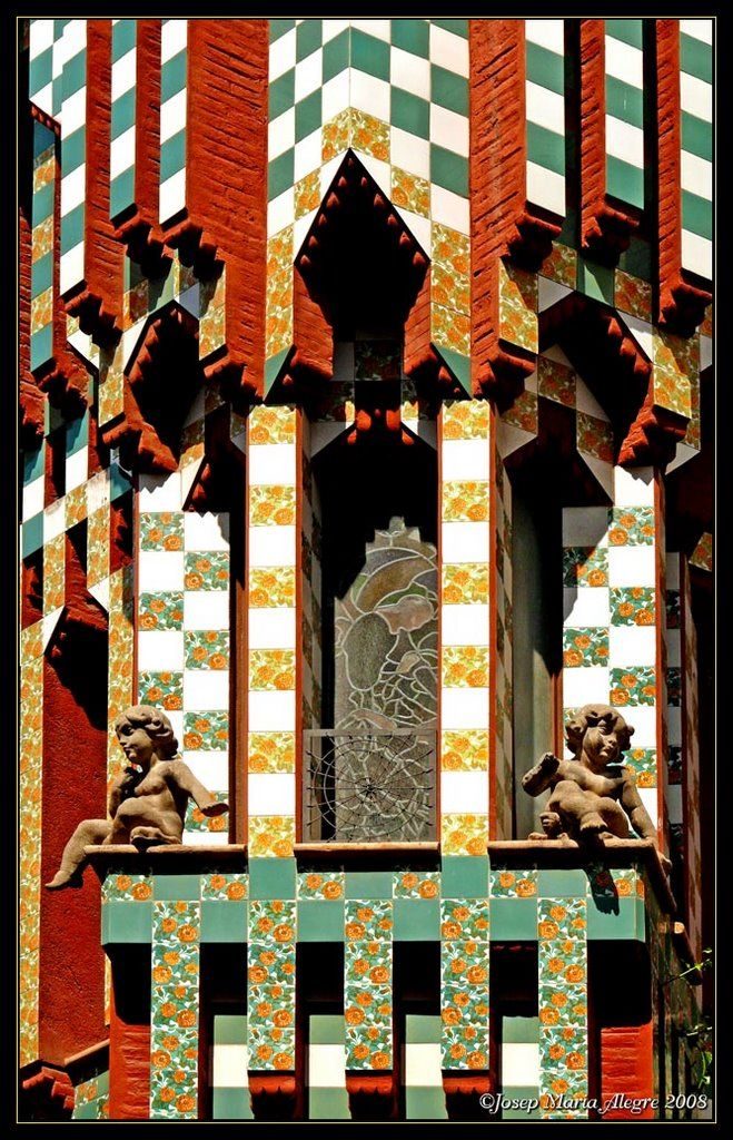 17 best images about gaudi casa vicens on pinterest for Barcelona jardin gaudi
