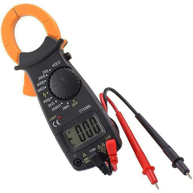 Find More Clamp Meters Information about DT3266L AC/DC Mini Pocket Handheld…