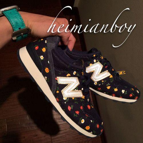 Women New Balance 996 NB996 Shoes WR996DUW Flower Intersperse 35-39