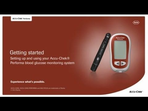 How To Use The Accu-Chek® Performa Blood Glucose Meter System