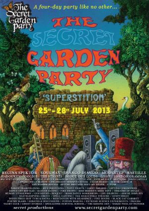 The Secret Garden Party 2013! #MusicFestival
