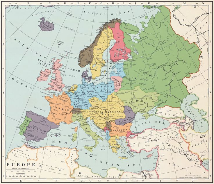 Alternate History Weekly Update: Map Monday: Europe After a Central Powers Victory by Blomma
