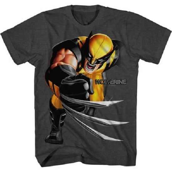 Boys Marvel Wolverine X-Men Graphic Shirt New with Tags Size XL 14/16 Summer! #Marvel #Everyday