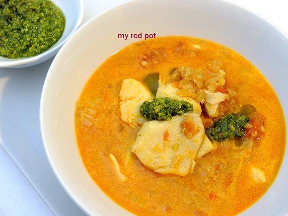 Quinoa fish stew -  gulasz rybny z komosą ryżową