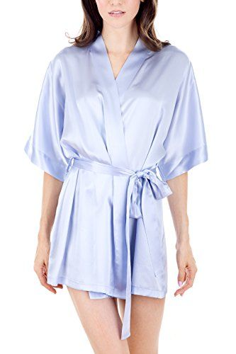 Women's Luxury Sleepwear 100%Silk Sexy Short Robe by Osca... https://www.amazon.com/dp/B01LE8RW1G/ref=cm_sw_r_pi_dp_x_lxt2ybCF1J5FY