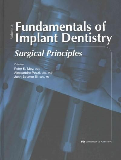 Fundamentals of Implant Dentistry: Surgical Principles