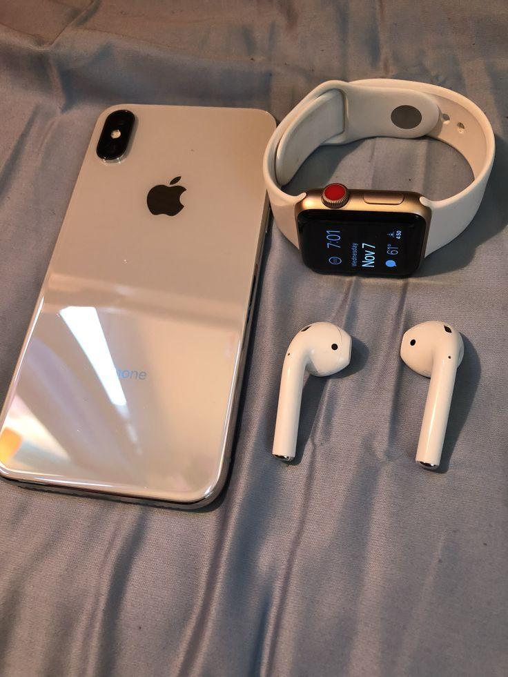 iPhone X & Apple Watch Series 3 LTE + Apple AirPod…