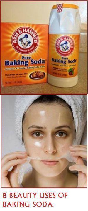 1.Face peeling Baking soda is excellent choice for those who have sensitive skin that reacts to perfumed peelings. Or if you don't want to spend a lot of money on these products, you can.