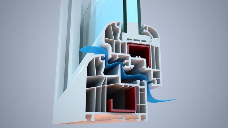 Breathing Home | tamaserdodi.com #3D #techical #illustration