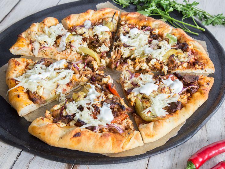 die besten 25 d ner pizza ideen auf pinterest d ner selber machen t rkisches essen und. Black Bedroom Furniture Sets. Home Design Ideas