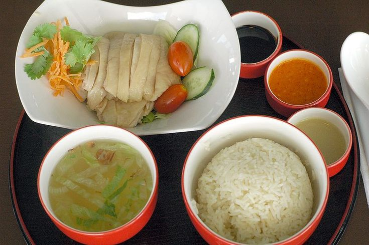 Hainanese chicken rice @ Chatterbox, Meritus Mandarin Hotel, Singapore.