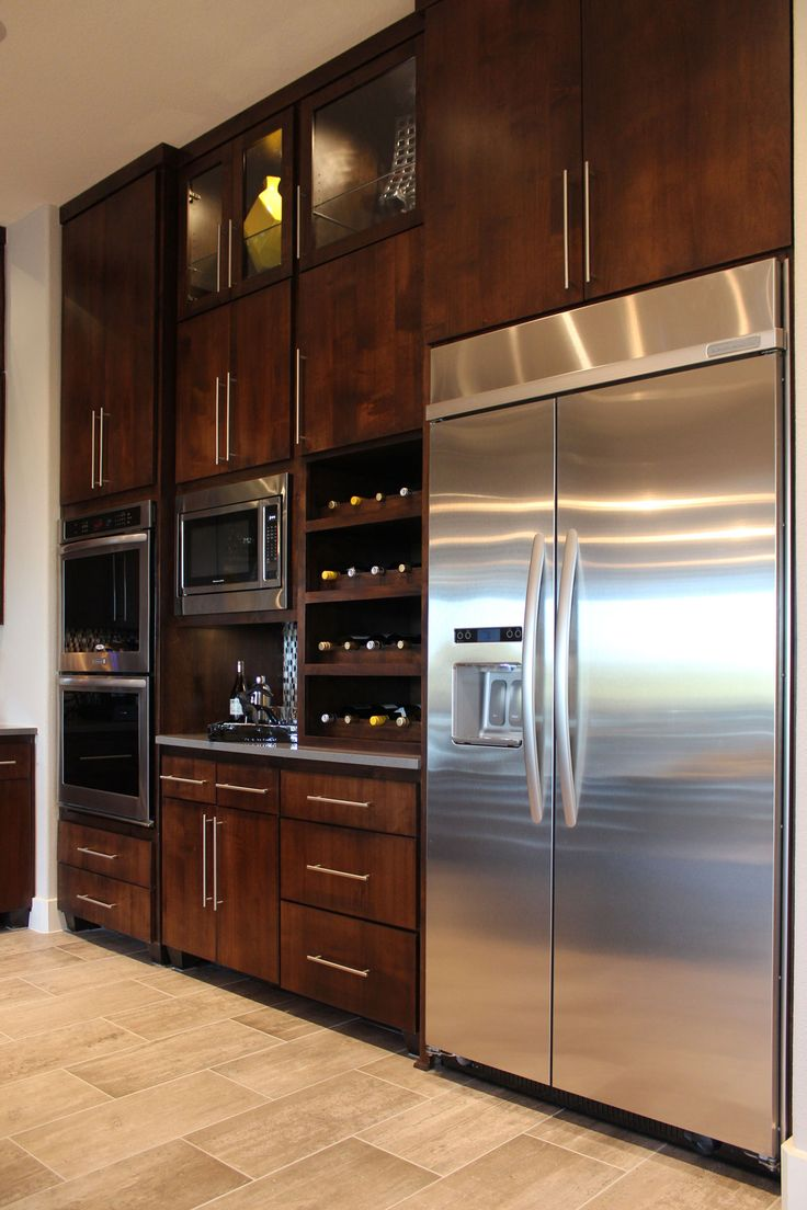 Burrows Cabinets Kitchen With SoCo Modern Cabinet Door