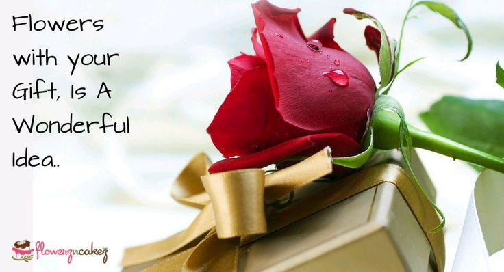 Sending #flowers with your #gift is a wonderful idea.. http://www.flowerzncakez.com/