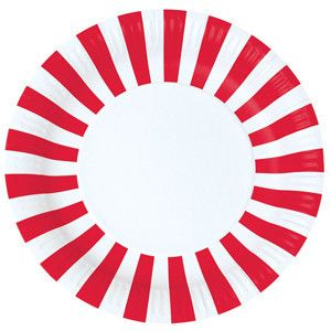 Paper Plates - Red