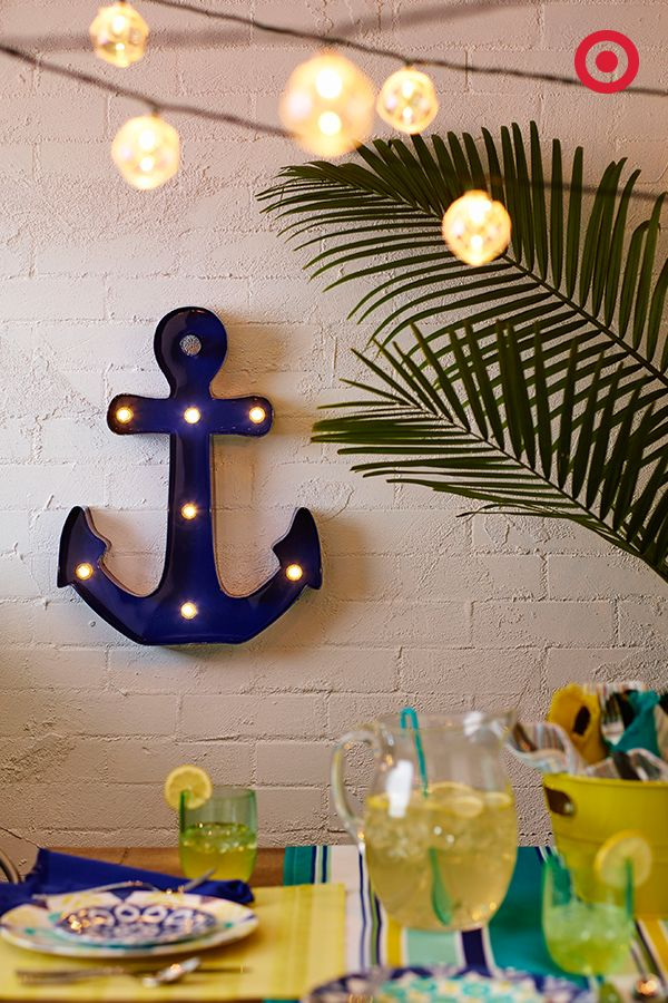 Outdoor Wall Decor Nautical : Backyards need wall art too add ambiance to your outdoor