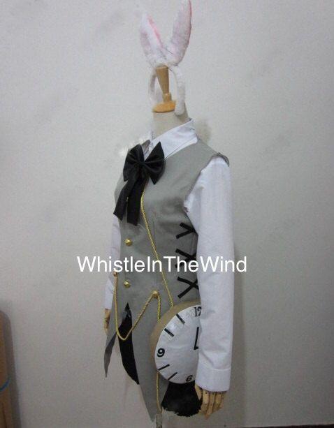 Alice In Wonderland White Rabbit Inspired by WhistleInTheWind, £74.95