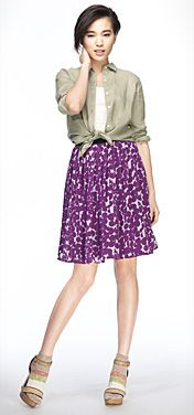 Women's Skirts - Pleated Skirts, Mini Skirts, and More   UNIQLO $29.90