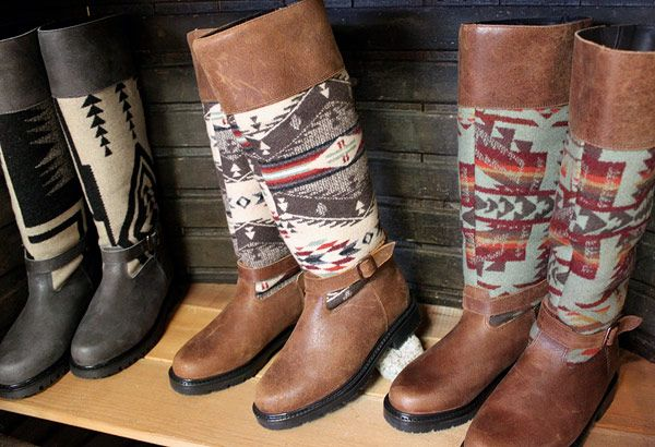 A favourite of online editor Randi Bergman, these Paul Brodie boots have gorgeous Pendleton wool detailing, a cozy wool interior, and a thick sole to keep you upright and stylish all winter long. Plus, they're waterproof! Paul Brodie boots ($325, intheville.com)