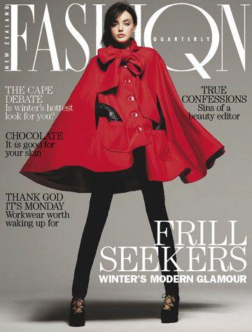 Amanda Mitchell cover Fashion Quarterly