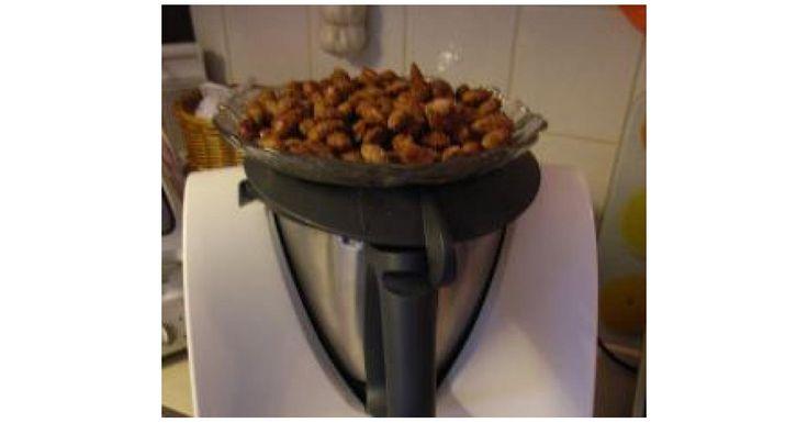 Gebrannte Mandeln mit Zimt oder Chili
