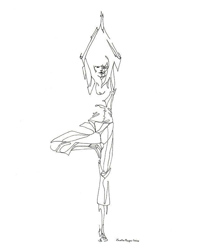Tree Line Dibujos Pinterest Yoga Art Yoga Y Drawings