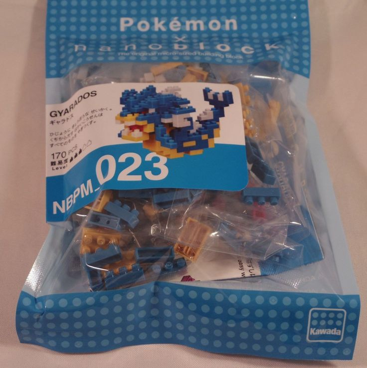 "This is Kawada nanoblock Pokemon GYARADOS Nintendo- japan. Birth of minimum in the world class block ! ""nanoblock Pokemon GYARADOS(LTD) "" 170Pieces. Kawada?. The block toy was put on the market in 1962. 