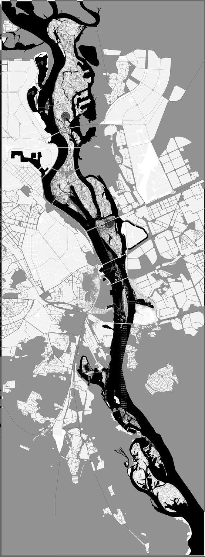 Urban Design Map of Kiev | From Map Geek Pinterest Board, @BadgerMaps