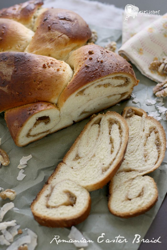 302 best easter images on pinterest bread recipes crosses and romanian easter braid negle Choice Image