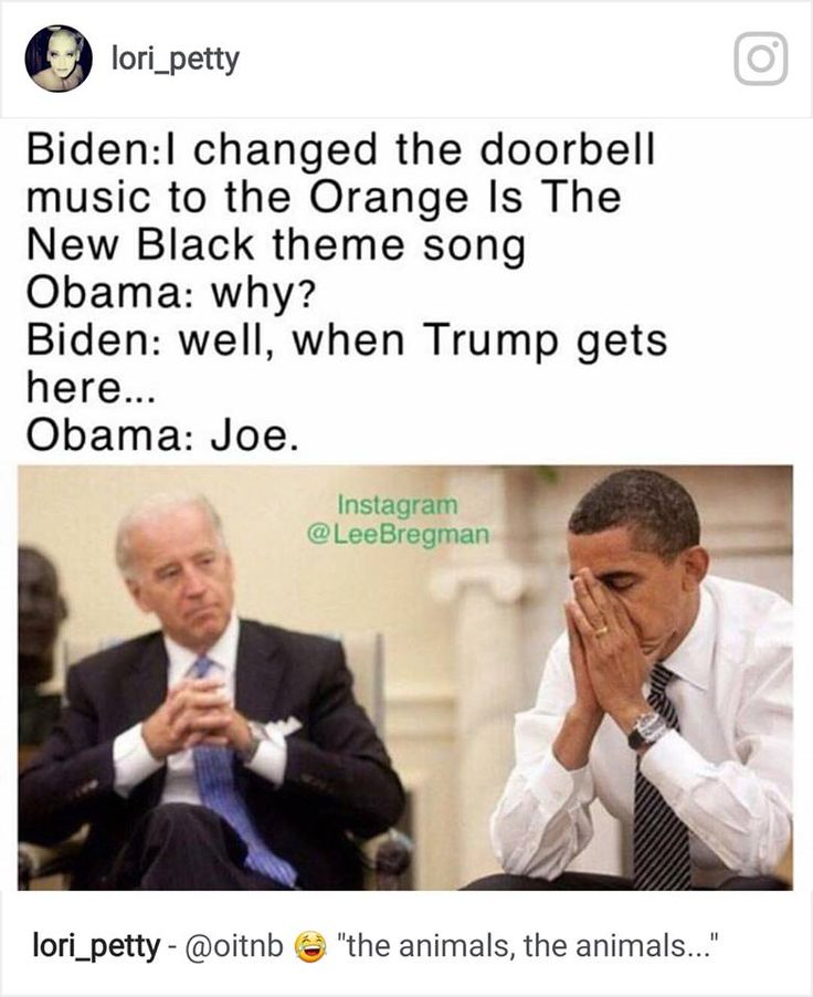Biden. Obama.  Trump