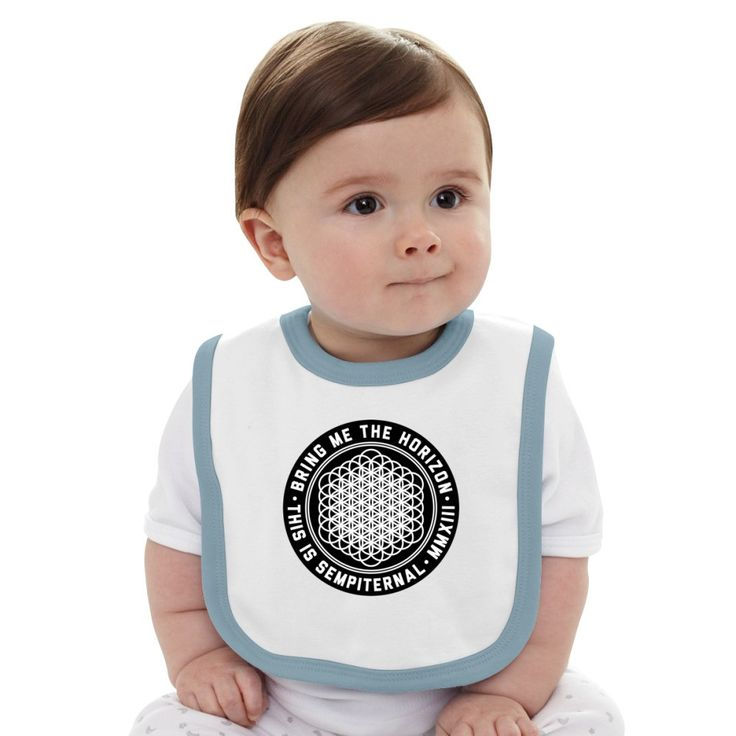 The Sempiternal Album Baby Bib