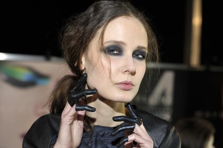 makijaż do pokazu Agaty Wojtkiewicz