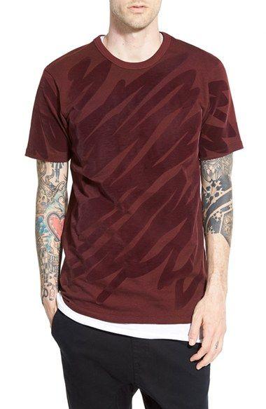 G-Star Raw 'Scribble' Textured Crewneck T-Shirt