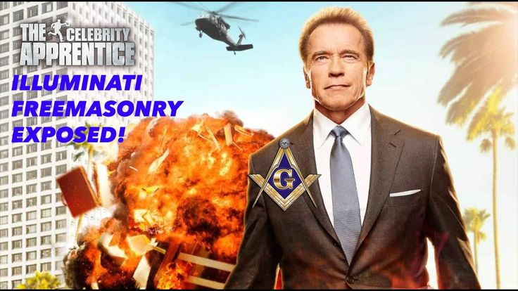CELEBRITY APPRENTICE FREEMASON ILLUMINATI SYMBOLS EXPOSED! (ARNOLD SCHWA...