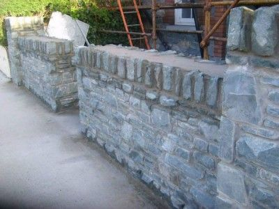 Stonework in Killarney Kerry Ireland