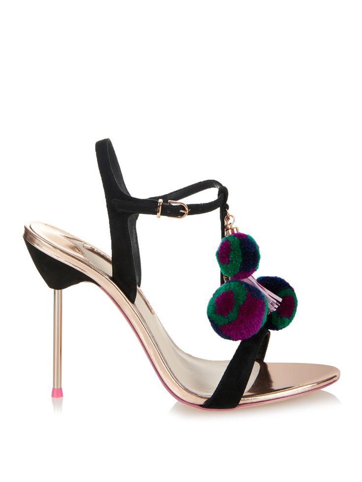 Pumps & High Heels for Women On Sale, Black, satin, 2017, 5 Sophia Webster