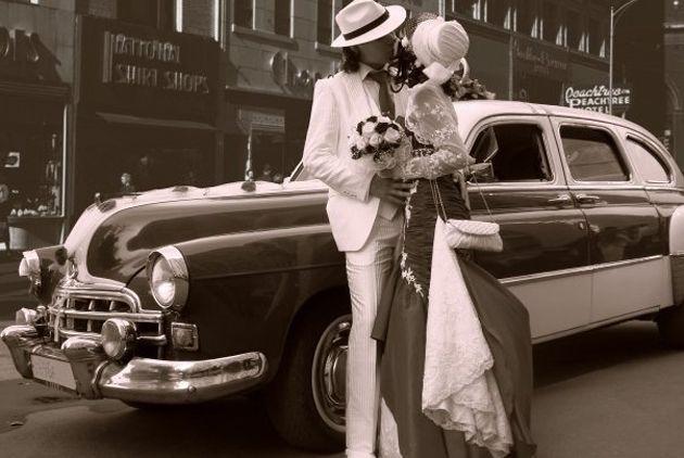 Ретро свадьба в стиле 20-х.