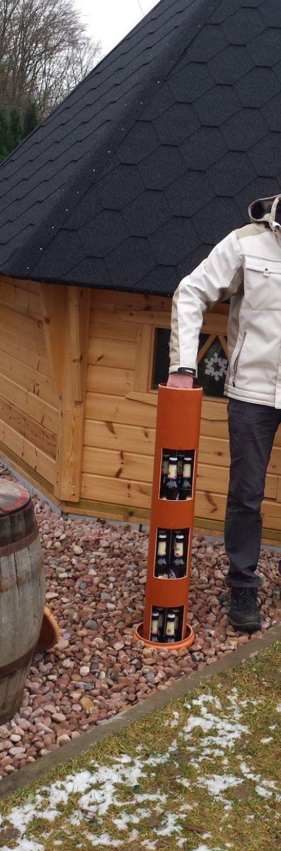Bildergallerie – bierkuehlrohr.de: Der Erdloch – Bierkühler für stromloses kühlen im Garten!   – Karl
