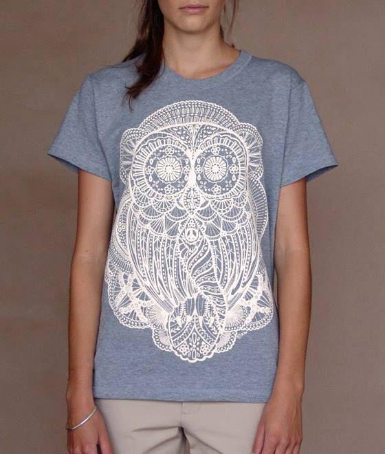karen walker owl illustration