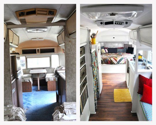 Before & After: Melanie and George Makeover (and Move Into) an Airstream — Renovation Project | Apartment Therapy: