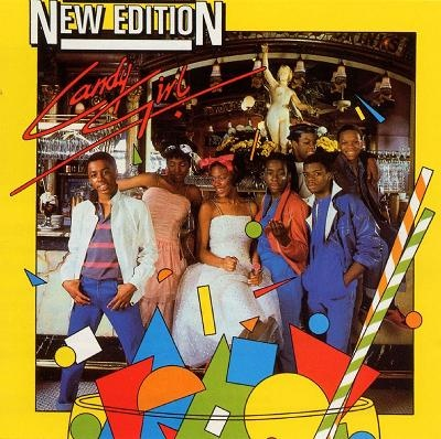 """New Edition """"Candy Girl"""" album cover"""